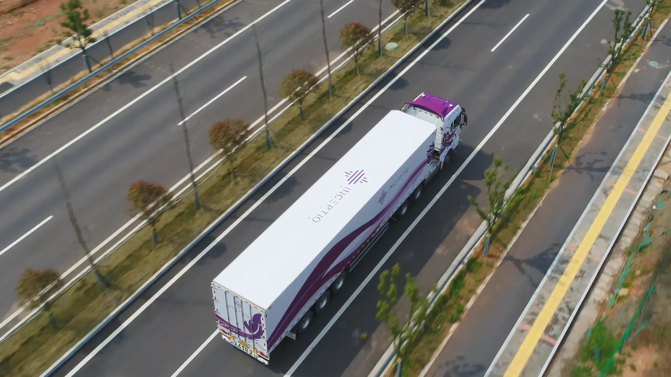 Inceptio Obtained the Autonomous Driving Truck Testing License in Changsha